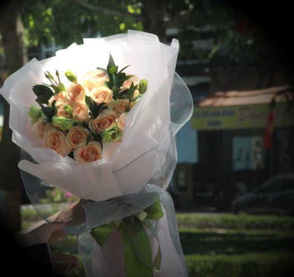 Bó hoa tươi tại Tam Kỳ
