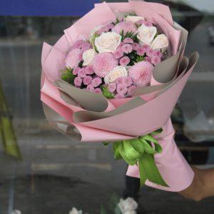 Bó hoa tròn tại Tam Kỳ