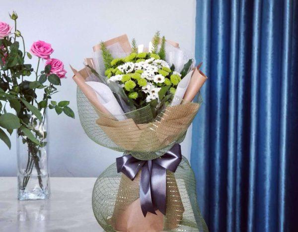 Bó hoa tròn giá rẻ