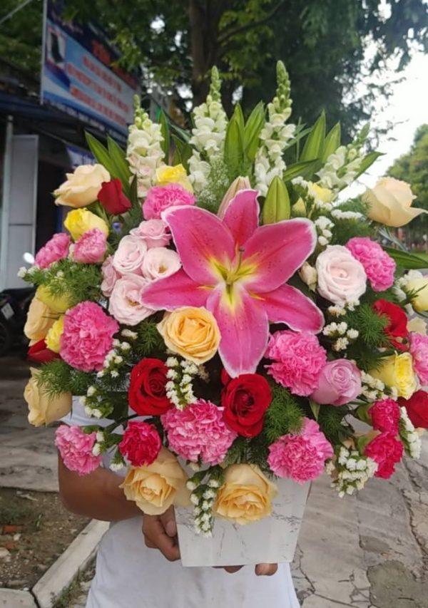 Lẵng hoa tươi tại Tam Kỳ